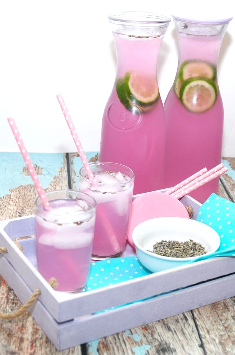 Vanilla Lavender Limeade - a perfectly easy #spring #drink #SundaySupper #recipe