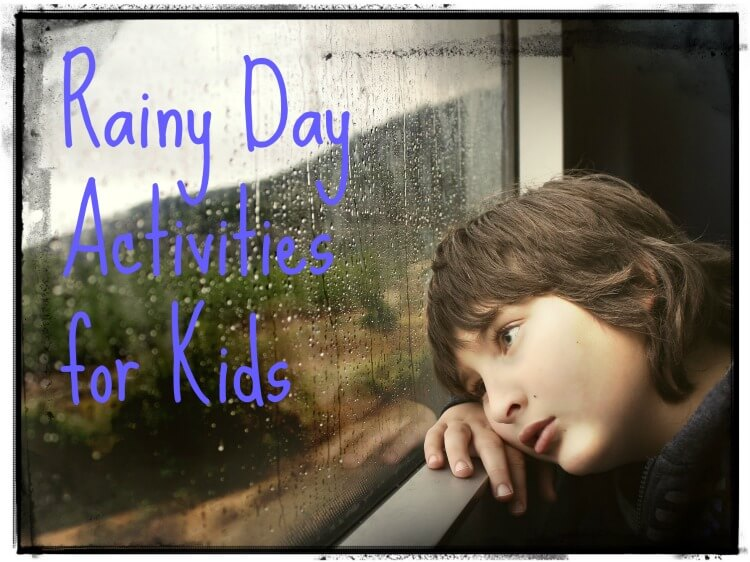 Check out all these ideas for Rainy Day Activities for #kids! #rainyday