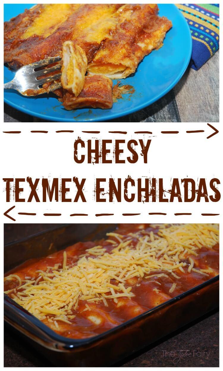 Easy Cheesy TexMex Enchiladas - #SundaySupper Regional Specialties #food #foodie