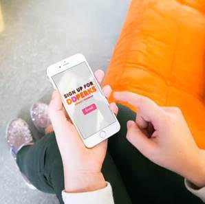 Check out the sweet deal w/ @DunkinDonuts DDPerks rewards program going on now! #ad
