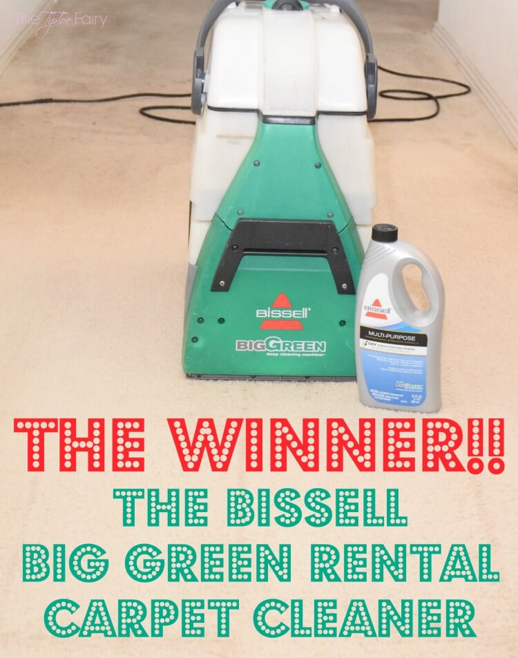 the bissell big green the rug doctor u2013 look at the amazing results