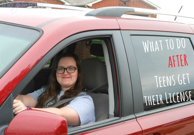 What should you do now that your teen has a driver's license? #ad #teens