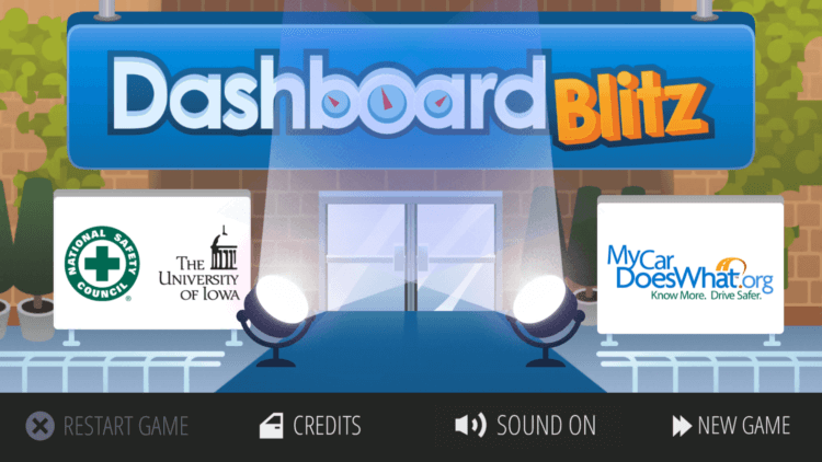 Teach kids car safety with #DashboardBlitz - a fun game app! #ad #kids #safety