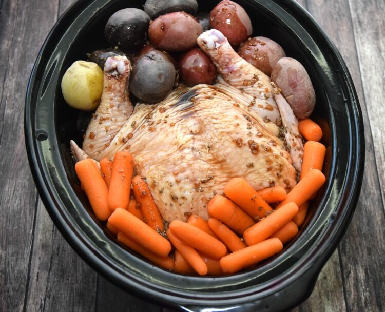 Make this #slowcooker meal and get the #PowerfulFusionClean w/ Palmolive® to clean the dishes! #ad