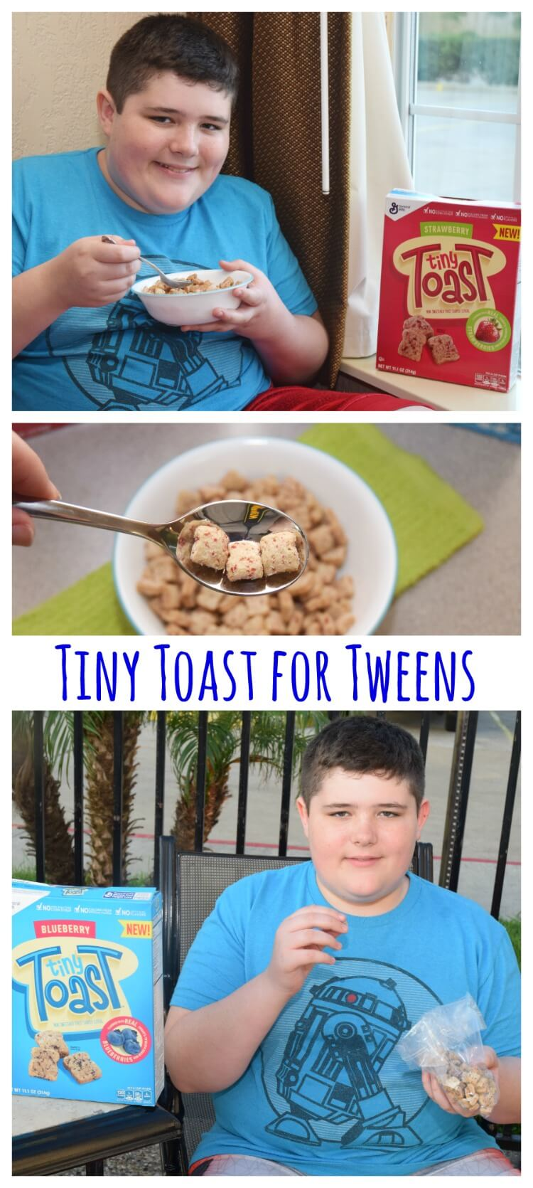 Check out @GeneralMills #TinyToastCereal at #Kroger for your teens & tweens! #ad #food