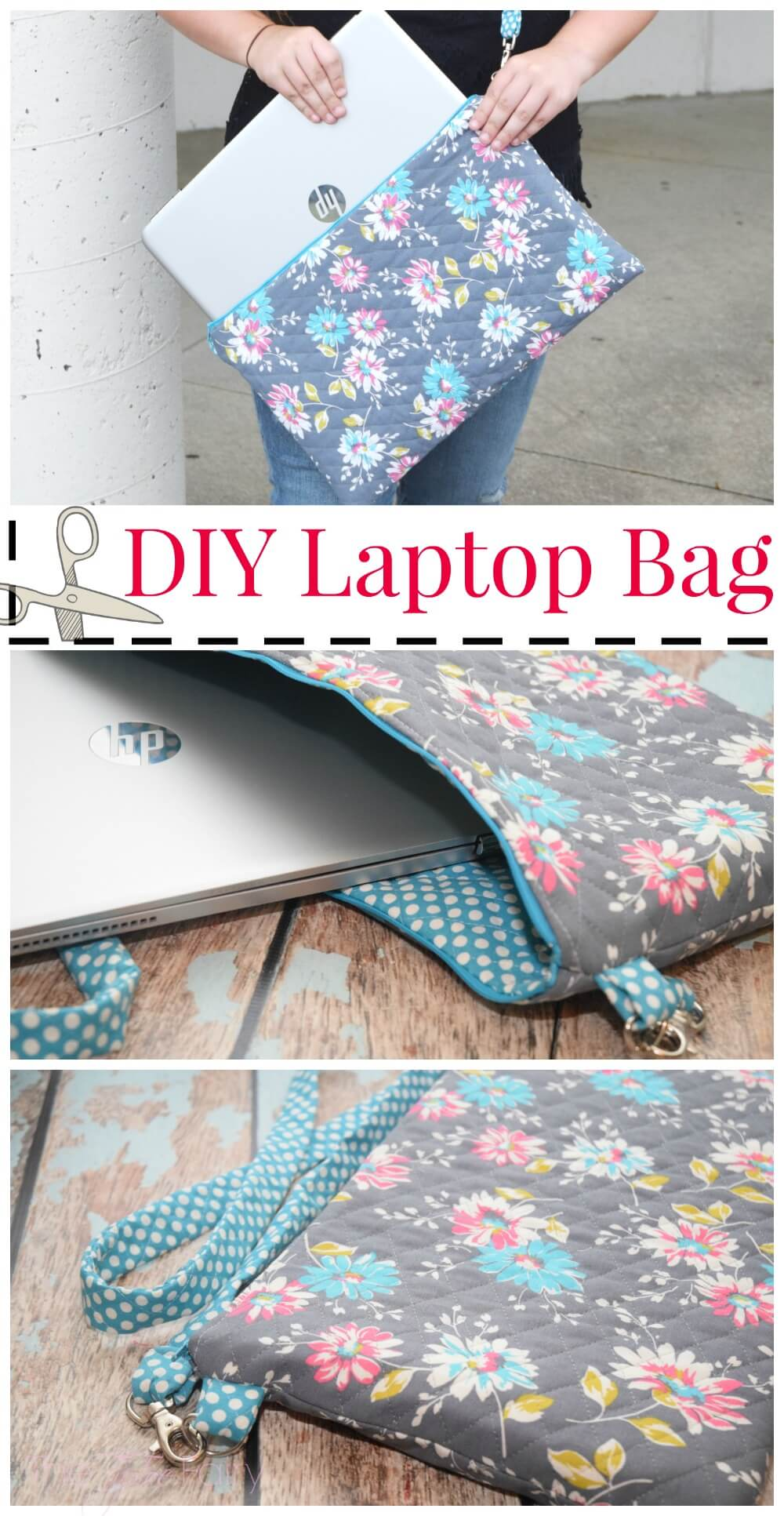 How to make a Laptop Messenger Bag
