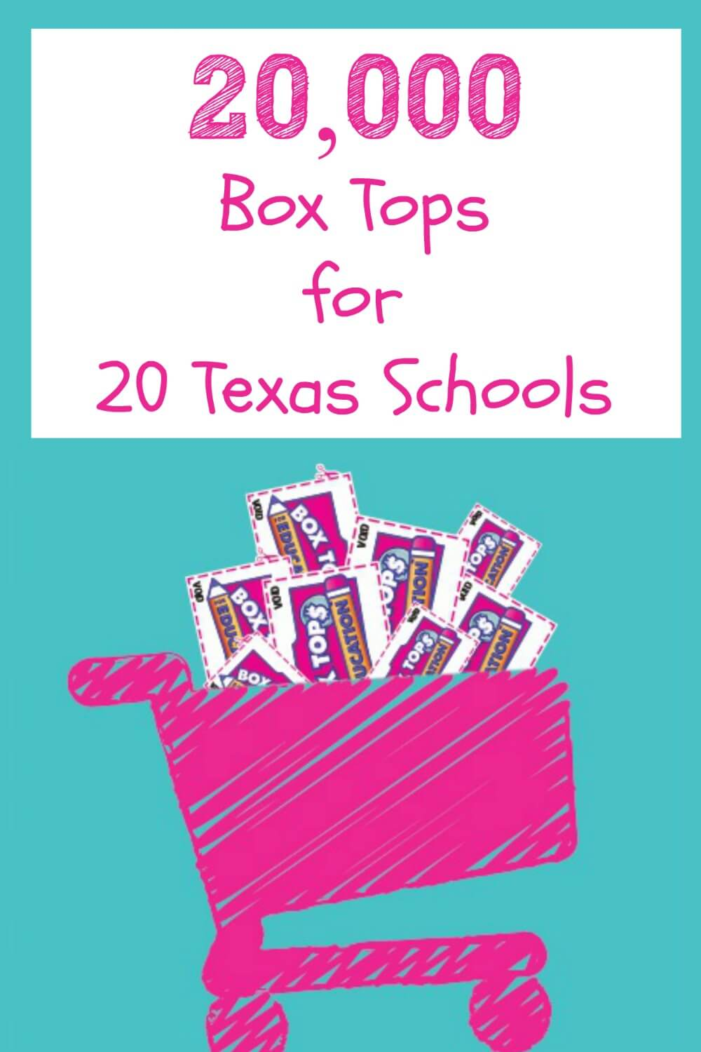 Texas parents! See how to #win 20K #BoxTopsforEducation for your School! #ad #sweepstakes