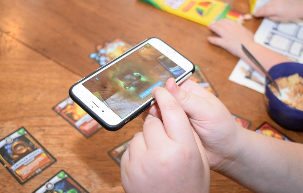 #BigGBattlecast w/family game morning! Exclusive cards w/ @GenMillsCereal & #Battlecast #ad