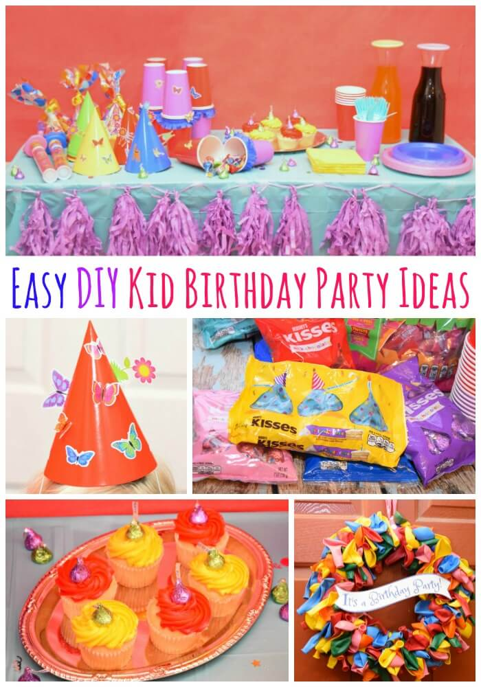 #LetsBirthday w Easy #DIY Kid Birthday Party Ideas w @Hersheys! #ad #craft
