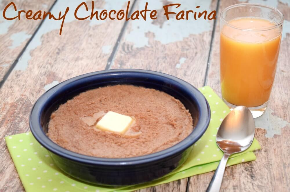 Make Creamy Delicious Chocolate Farina for #breakfast w/ Nesquik #StirImagination #ad #food #foodie