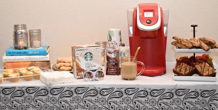 Make #DIY Mercury Glass Mason Jar Votives for your party tablescape w #StarbucksCaffeLatte #ad #MyStarbucksatHome