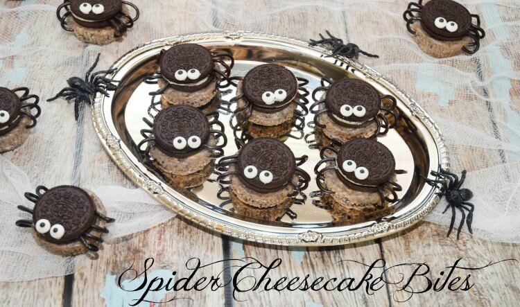 have a wthese easy oreo spider treats ad halloween