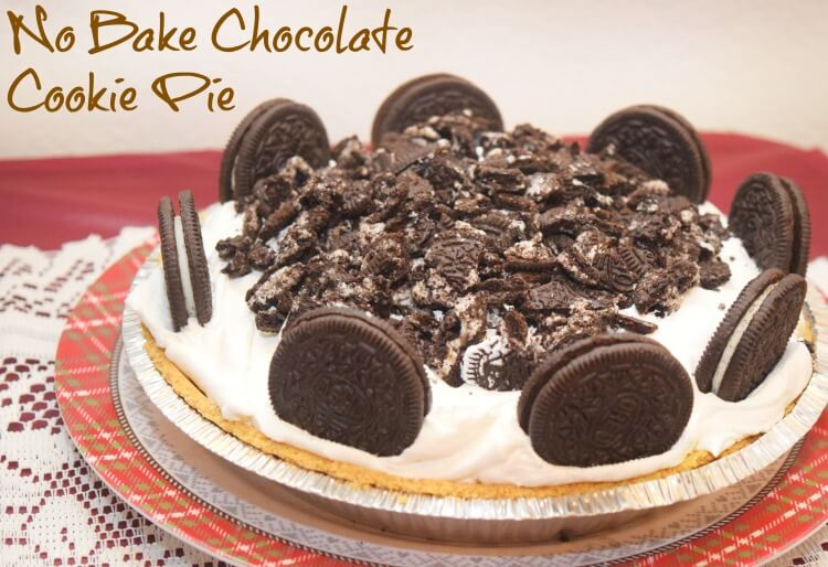 Make this easy No Bake Chocolate Cookie Pie w/ingredients from @DollarGeneral! #ad #yum