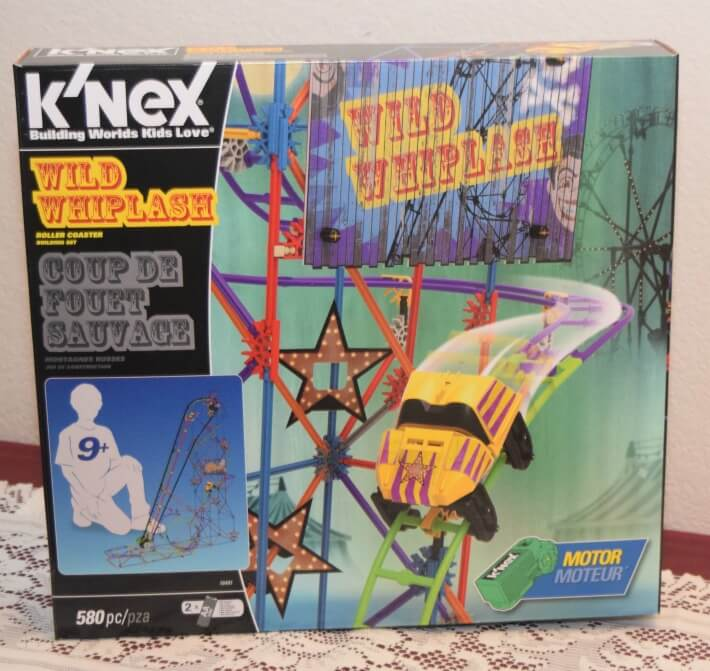 Don't know what to get a tween boy? Check out my #review for @KNEX #WildWhiplash rollercoaster! #ad