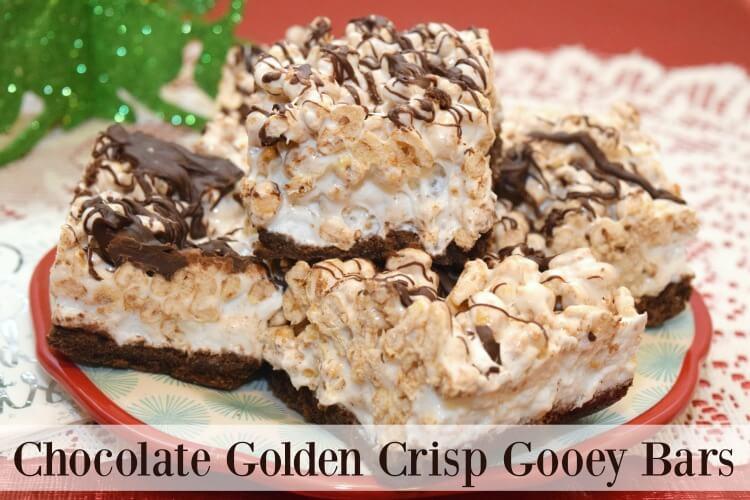 Grab a coupon to make these Chocolate Golden Crisp Gooey Bars! #ad #PostfortheHolidays https://ooh.li/a85f490