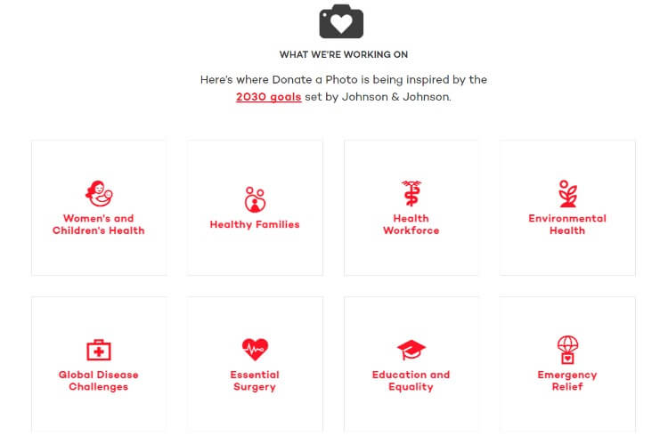 Learn how you can give back this holiday season with #JNJ @donateaphoto app! #IC #ad @JNJNews