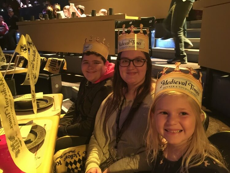 Check out our time at @MedievalTimes & enter to win a ticket 4-pack! #ad @usfg #mtfan