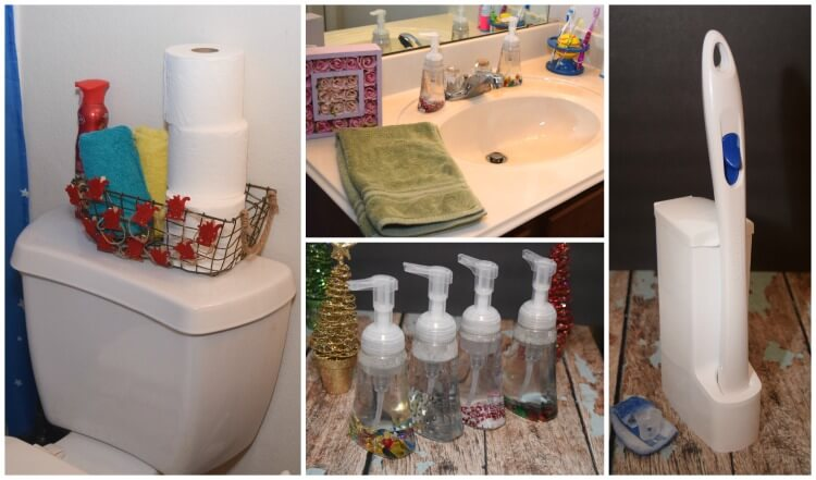 Make it a #ScotchBriteCleanHoliday w easy #DIY Holiday Liquid Soap! #ad