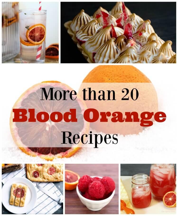 More Than 20 Blood Orange Recipes