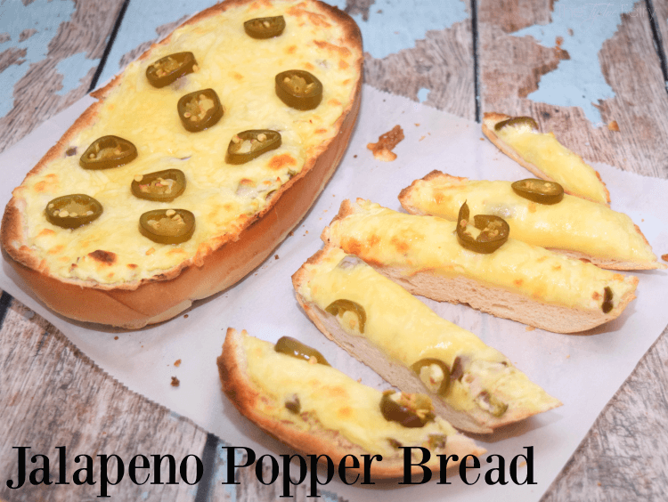 Your guests will devour this easy Jalapeno Popper Bread perfect for the Big Game! #VivaLaMorena #ad