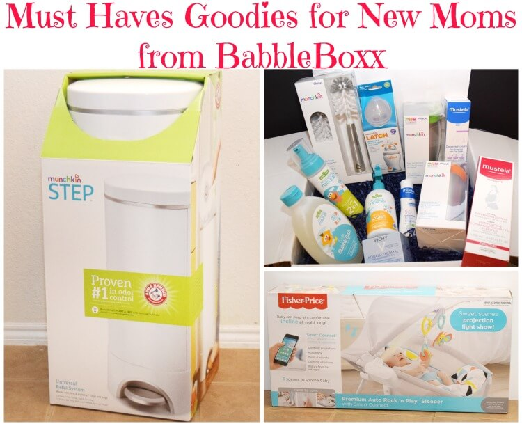 Looking for the Must Have Goodies for New Moms? Check these out from #BabyBabbleboxx! #ad