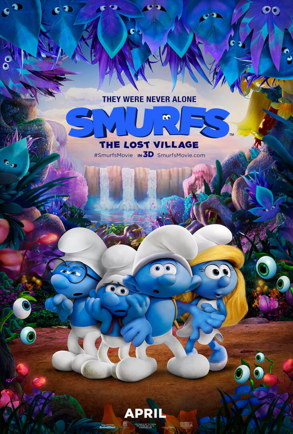 Make some Forbidden Forest Slime for the #SmurfsMovie! #ad #RWM