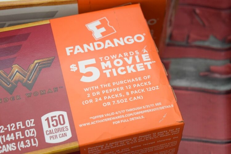 Check out this awesome offer from #Fandango & Dr Pepper for the new #WonderWoman movie! #ad