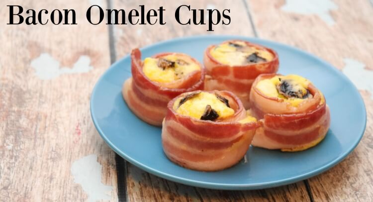 Give Dad a delicious Father's Day breakfast in bed w/ Bacon Omelet Cups #ad