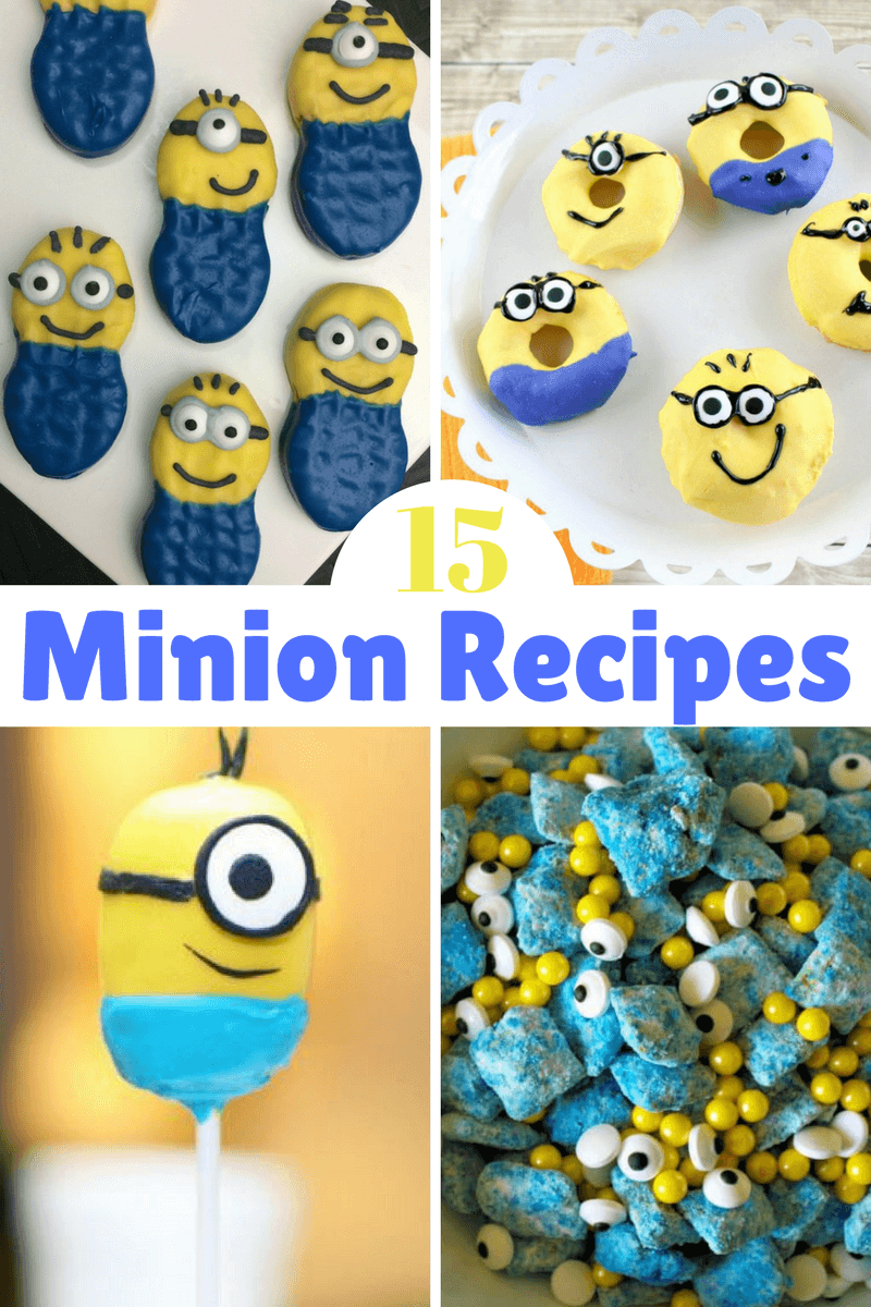 Check out more than 15 Minion Recipes! #DespicableMe #movie