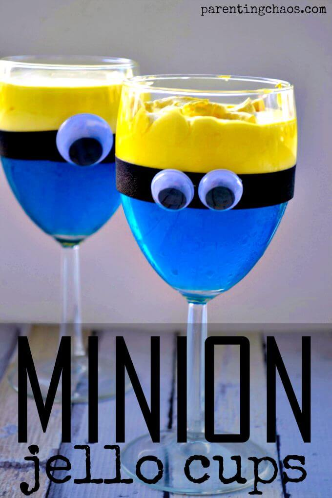 Check out more than 15 Minion Recipes! #DespicableMe #movie