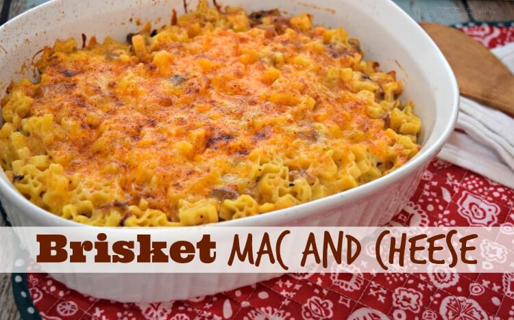 Make this deliciously hearty & smoky Brisket Mac and Cheese with @SkinnerPasta! #HowdySkinner AD