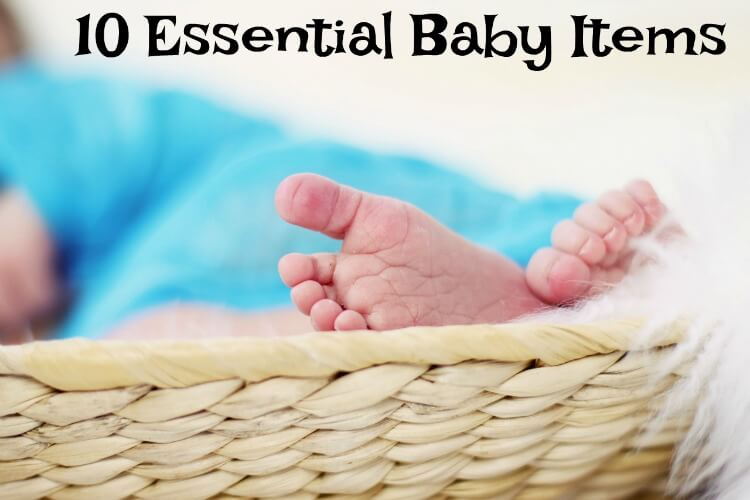 My 10 Essential Baby Items I can't live without! #baby #newmom
