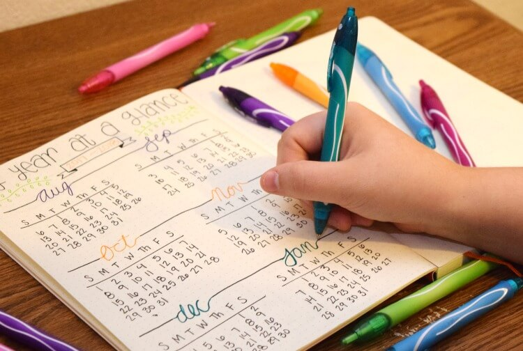 Get Back to School & more creative with #BICGelocity gel pens! #AD