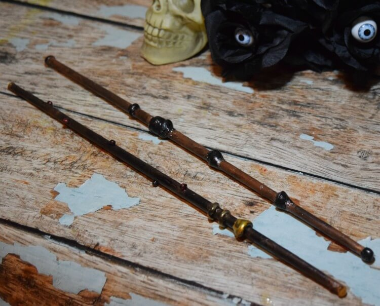 Make Your Own #DIY Harry Potter Wizard Wand! #craft