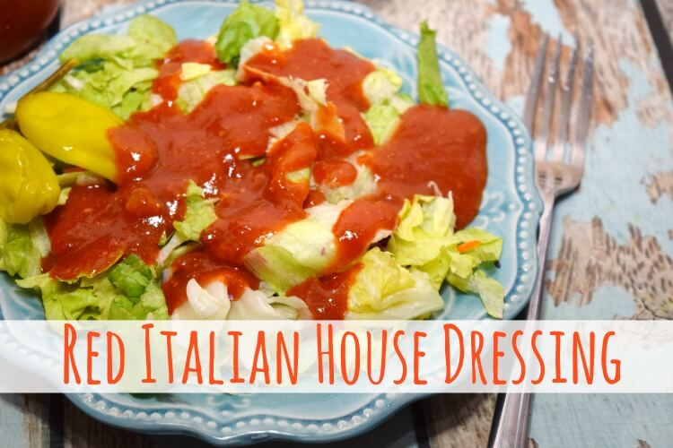 Make that Red Italian House Dressing from your favorite #Italian restaurant! #recipe