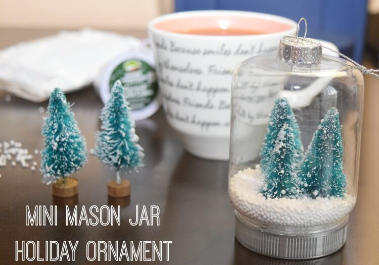 make these mini mason jar holiday ornaments brewthelove on fall back day today