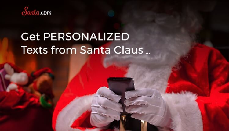Get personalized texts and emails from Santa from Santa.com! Learn more & enter to #win! #ad @GarlandTheElf
