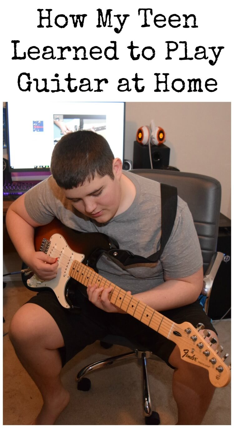 How My Teen Learned to Play Guitar at Home with #FenderPlay! #ad @Fender #CLVR