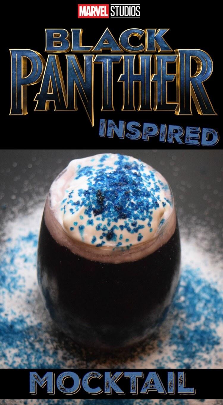 Marvel Black Panther Mocktail