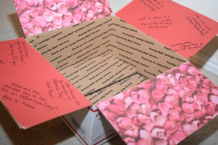 valentine's day care package for college kids | the tiptoe fairy, Ideas