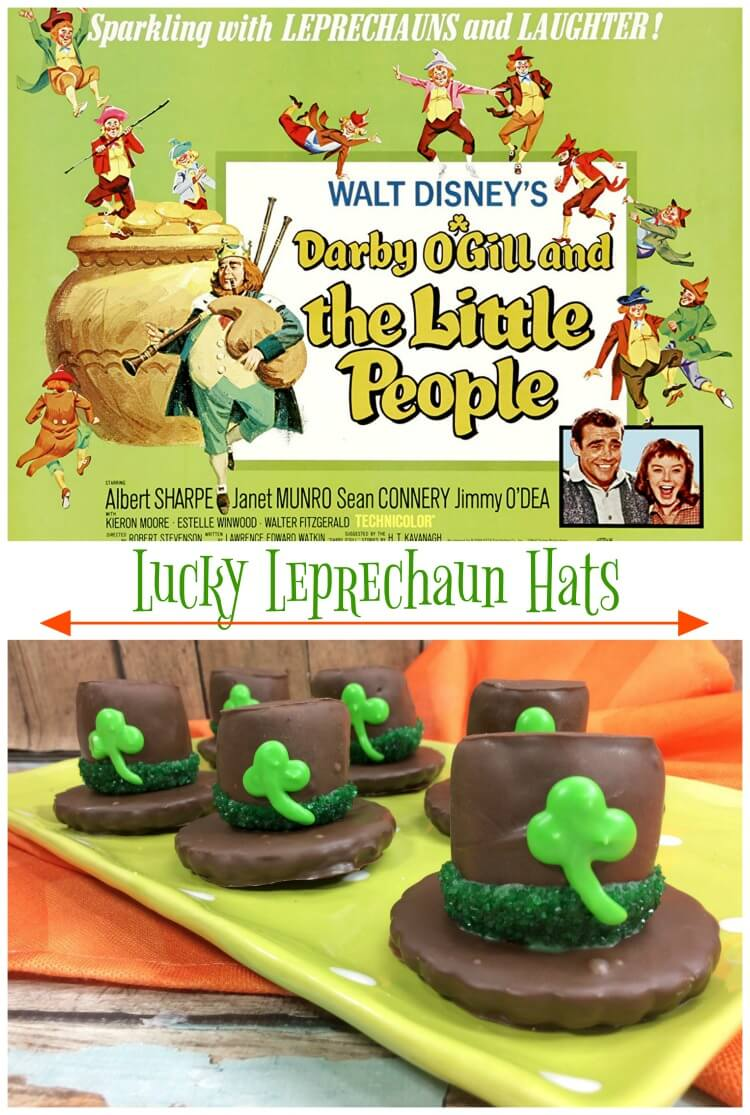 Ready to make Lucky Leprechaun Hats & watch Disney's Darby O'Gill and the Little People?