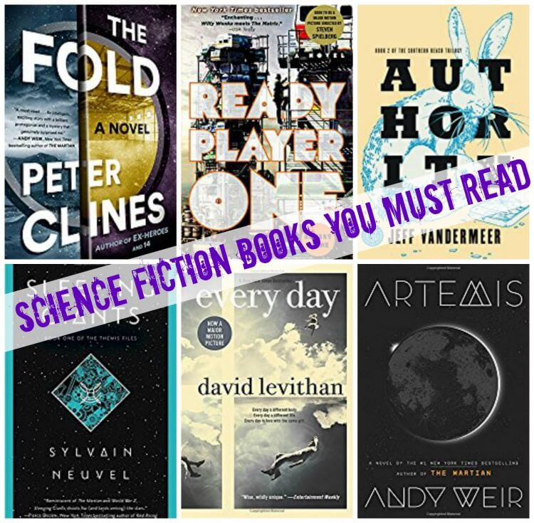 My absolute favorite Science Fiction Books you will want to read this year!