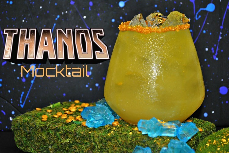 Make an Avengers Infinity War Thanos Mocktail! #infinitywar