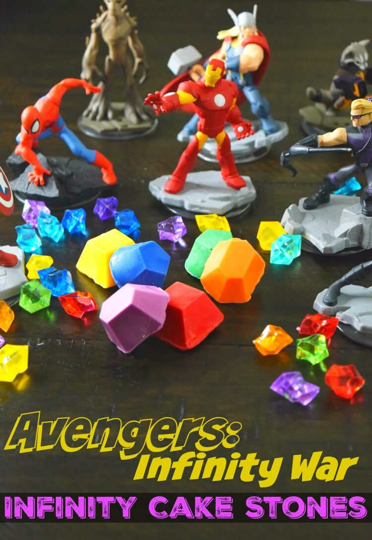 Perfect for that AVENGERS party, make your own edible Infinity Stones from Cake to celebrate AVENGERS: Infinity War!