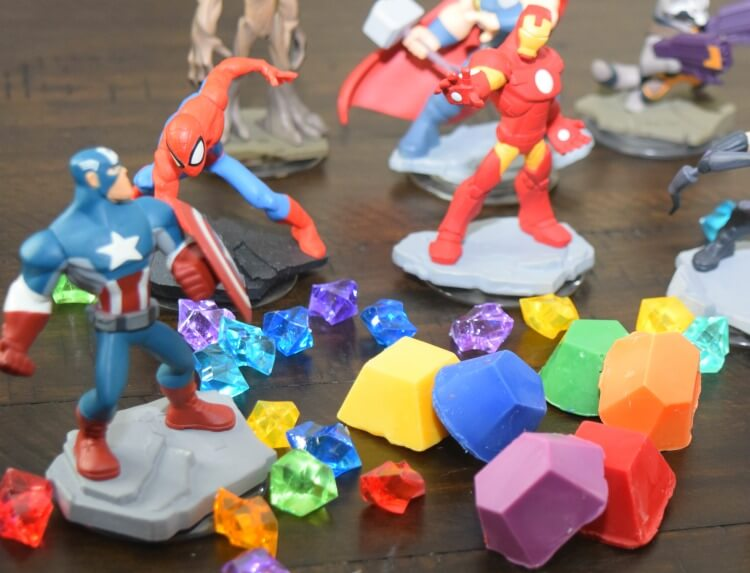 Marvel Avengers Infinity War Cake Infinity Stones