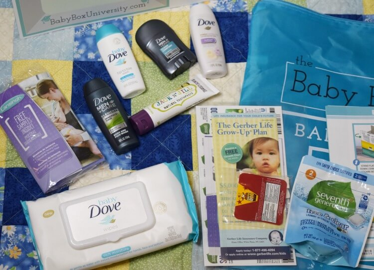 Lots of Freebies with your FREE Baby Box from @TheBabyBoxCo!