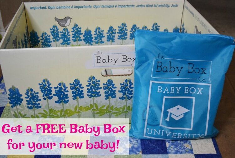Learn how to get your FREE Baby Box from @TheBabyBoxCo!