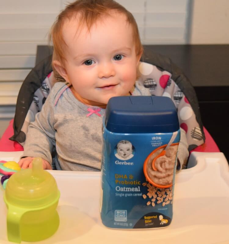 Have a baby with low iron? Come learn the 4 tips we used to increase iron levels in our baby like feeding Gerber cereals! #ad #AnythingForBaby