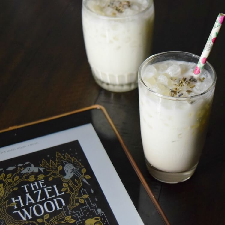 Try a fairy tale drink like a Honey Lavender Cream drink.