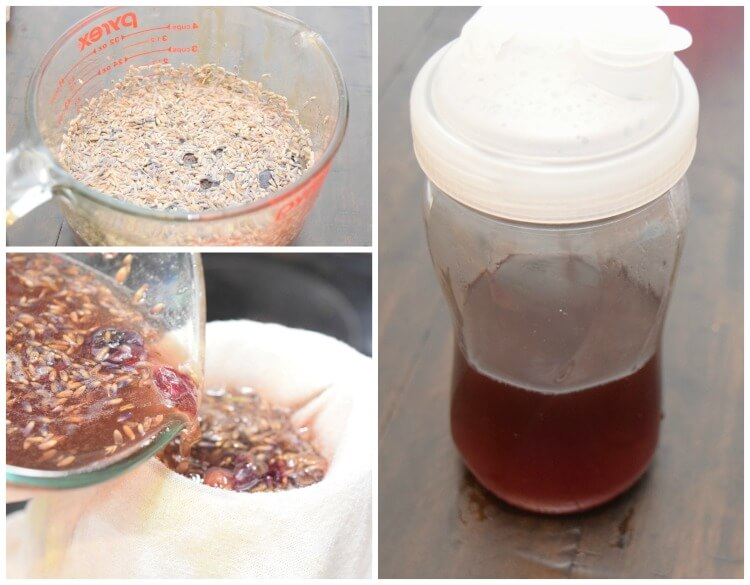 How to make Honey Lavender syrup.